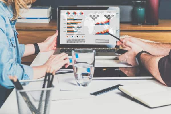 Scottish digital marketer showing client results